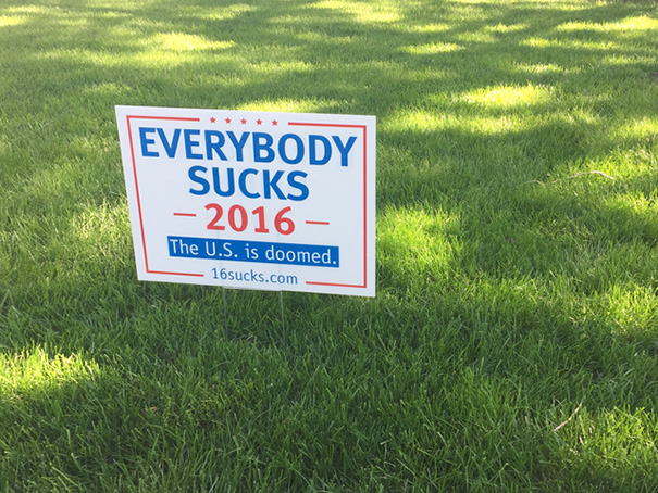 The Last Words I Have on the Presidential Election