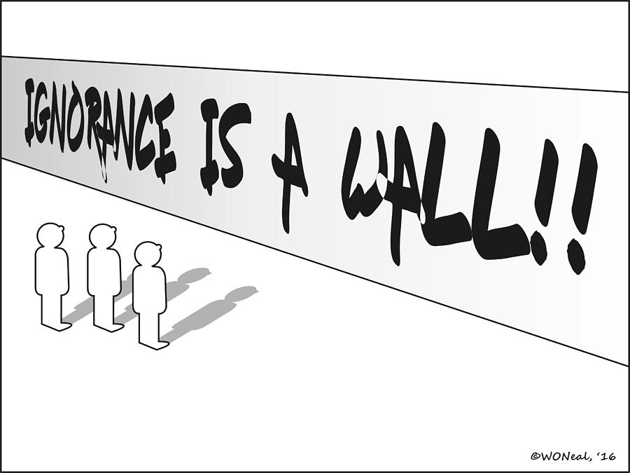 The Wall of Ignorance
