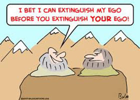 The Challenge of Having an Ego