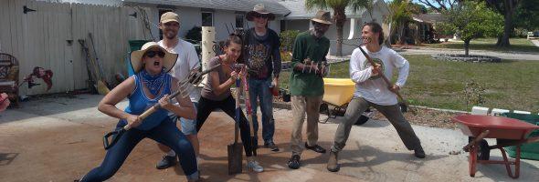 Novus Community House Spring Work Day
